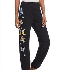 NWT Wildfox Small Black Sweatpants